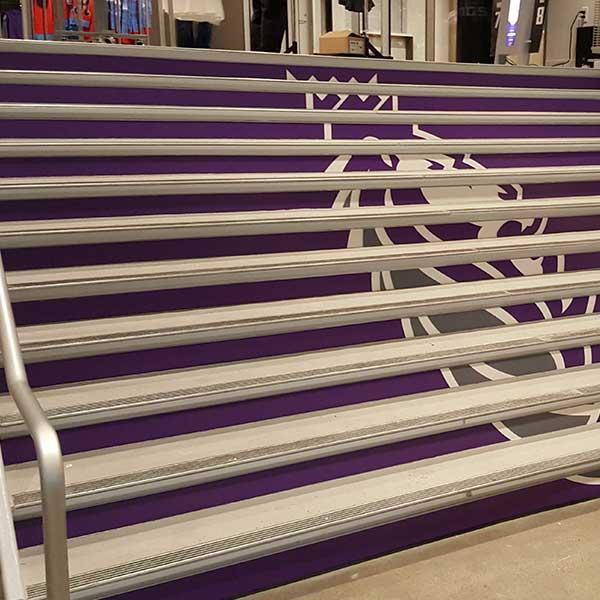 Stair wraps Sacramento, ca
