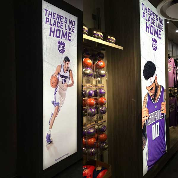 Fabric Backlit displays Sacramento
