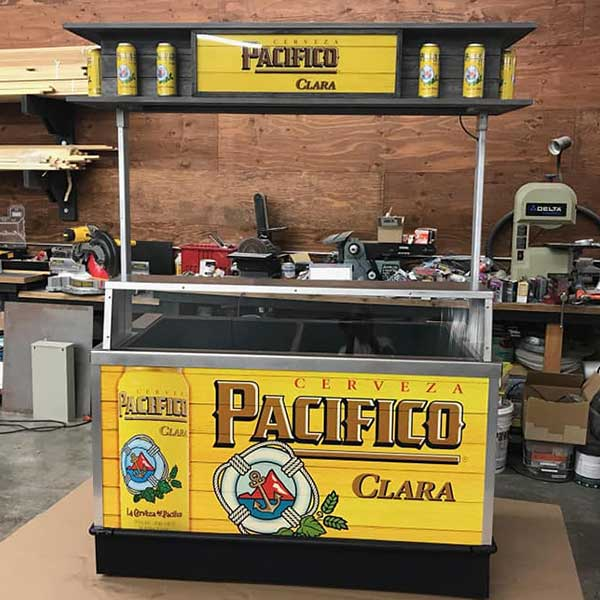 beer cart graphics
